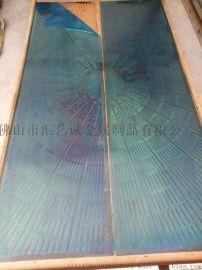 别墅室内装饰不锈钢蚀刻板 电梯门板装饰蚀刻板