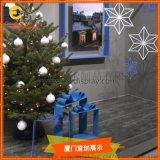 女装圣诞节橱窗装饰橱窗陈列设计