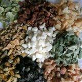 河南海藍色石米   永順海藍色豆石多少錢