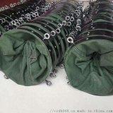 襄陽耐磨帆布水泥伸縮布袋 散裝機除塵布袋