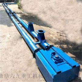 不锈钢输送管 管链输送机设计计算 圣兴利 耐用颗粒