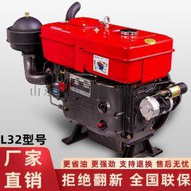 常美单缸柴油机配件L32大马力匹马力水冷发动机