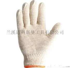 7针电脑机600克本白棉纱工作手套