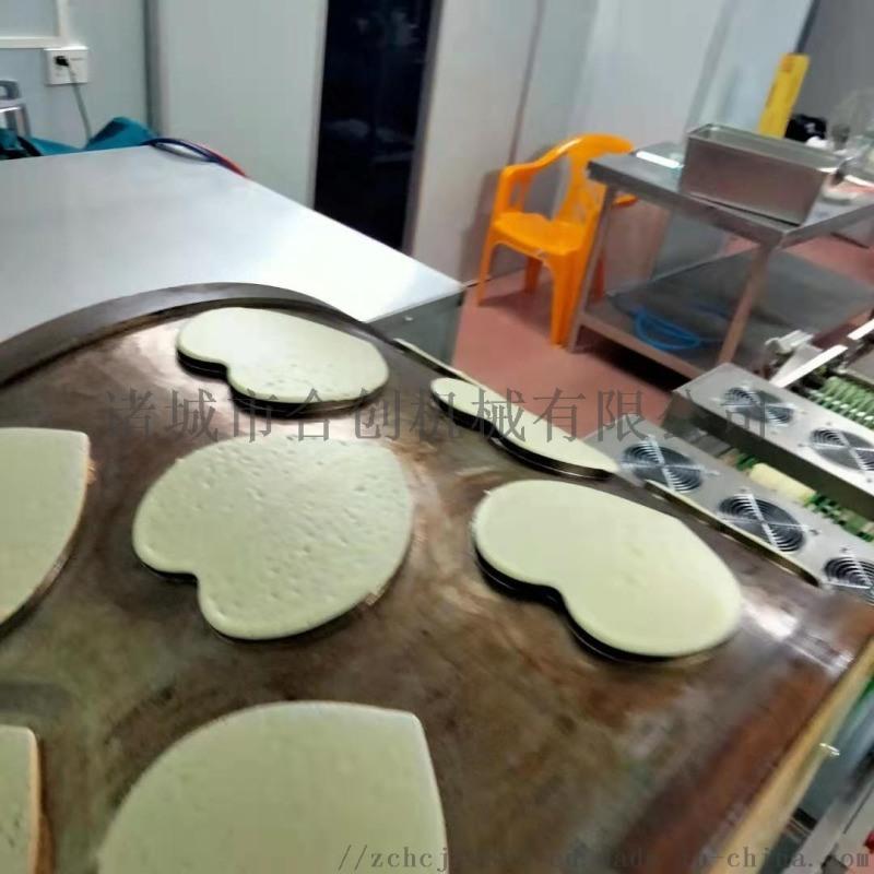 全自動蛋皮機 榴蓮千層蛋皮機 心形蛋皮機