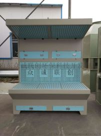 柜式打磨除尘器 单双工位 金属木工打磨除尘环保设备