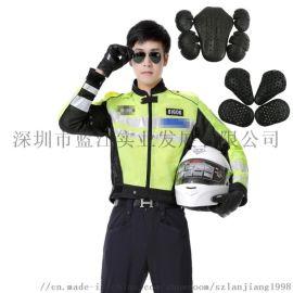 厂家直销 深圳交警铁骑服 防摔防刮摩托车骑行服