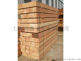 花旗松工程木方建筑板材古建毛料