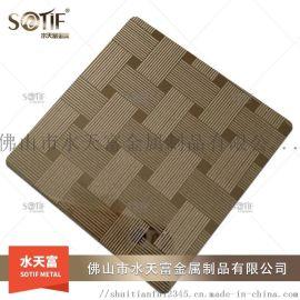 304 彩色压纹不锈钢装饰板 电梯酒店装饰板