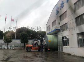 安徽铜陵一体化预制泵站的施工现场