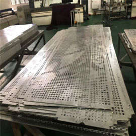 教学楼外墙吸音穿孔铝板 工业区吊顶穿孔铝板厂家