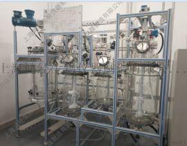 半自动多肽裂解仪/多肽切割釜/固相反应釜