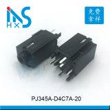 供应3.5耳机插座PJ-345立式加长音频插座