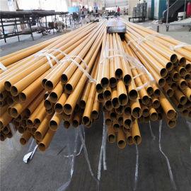 上海旅游区竹纹铝圆管 民宿酒店仿竹纹铝型材