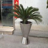 不锈钢花盆加工  不锈钢室外花盆