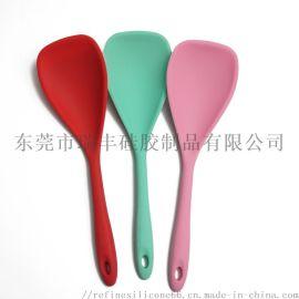 食品级硅胶汤勺 不粘硅胶汤勺 全包手柄硅胶汤勺