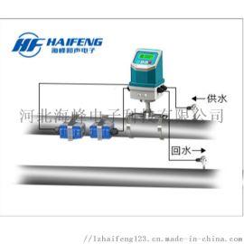 北京一体外夹式超声波热量表