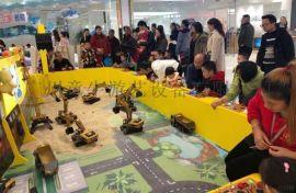 广州童牛亲子工程乐园项目挖掘机电动游乐设备工程车