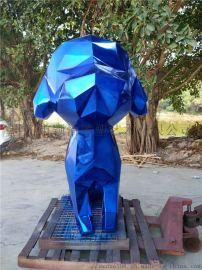 玻璃钢电镀雕塑