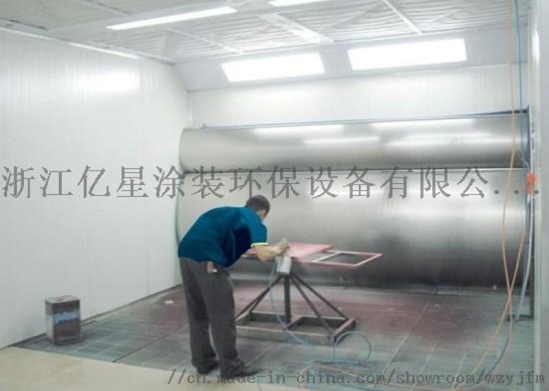 环保水帘喷漆房 家具喷漆烤漆房