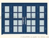5.定做小区对讲门  碳漆楼宇门 售楼处单元门 造型美观
