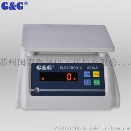 美国双杰防水商用台秤0.1g克E30kS