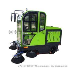 工程驾驶式扫地车环卫车小型工厂户外电动清扫车