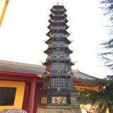 昌東工藝生產寺廟鑄鐵佛塔廠家,鑄銅千佛塔鑄造廠家