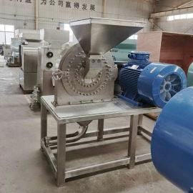 山东水泡大米磨粉机,干湿两用大型湿大米粉碎机