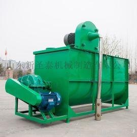 青川县混合饲料搅拌机 干湿料混料设备工作原理