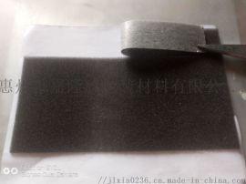 电线用海绵胶垫 自粘性海绵贴 黑色海绵条