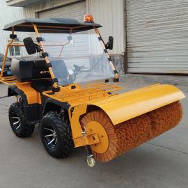 液压双链條道路清雪机 二合一扫雪机 装卸积雪抛雪机