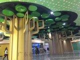同济中医院包柱铝单板-弧形立柱铝单板