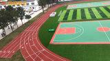 邵阳塑胶篮球场建设橡胶篮球场施工 EPDM彩色球场