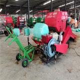 南充玉米小麥牧草秸稈打捆包膜機廠家 液壓青儲打包機