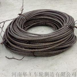 304不锈钢钢丝绳 吊钩卷筒葫芦用钢丝绳