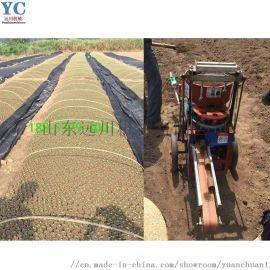 花木移植营养土打钵机 营养土装土机 无纺布装土机