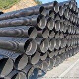 湖南長沙HDPE雙壁波紋管排污管塑料連接步驟管