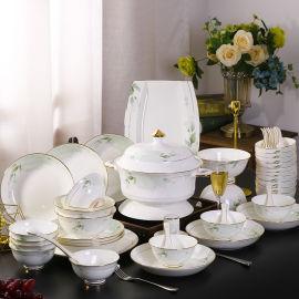 陶瓷餐具套装定制 景德镇餐具 恩城陶瓷
