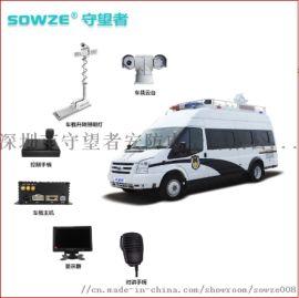 特种车监控1080P网络车顶云台摄像机4G回放轨迹