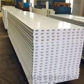南通硫氧镁彩钢夹芯板 岩棉烘道板 手工板