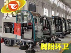 腾阳电动扫地车与人工清洁相比的优势