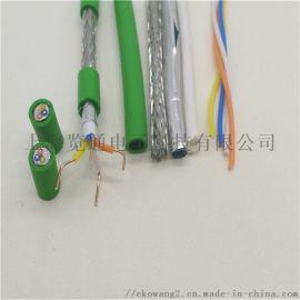工業profinet網線接頭-pn網線水晶頭