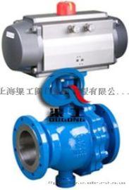 Q647固定式气动球、Q647硬密封固定式气动球阀