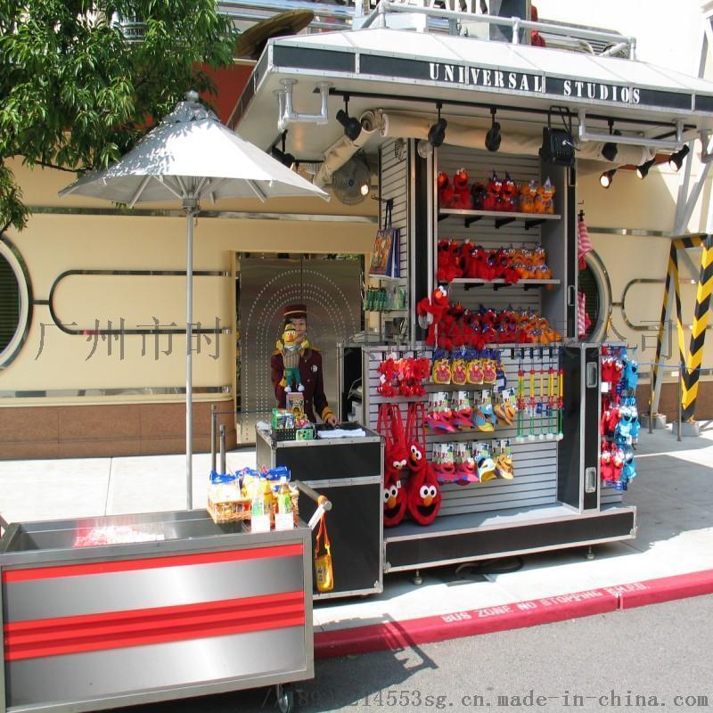 售卖亭 商业街多功能实用商品货物售卖亭