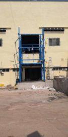 导轨式升降机 出口大马定做厂房升降货梯5吨升5米