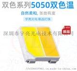 5050双色温 暖白光+正白光LED灯珠光源