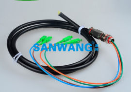 SC防水尾缆 SC-6芯防水单模/多模光纤连接器