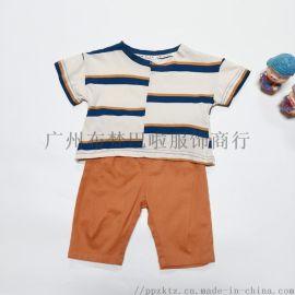 托尼可可夏季韩版 品牌折扣童装库存尾货