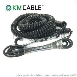 PU彈簧線定做 螺旋線PVC線定製加工