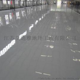 苏州通信设备仪表仪器车间环氧耐磨地坪一体化施工